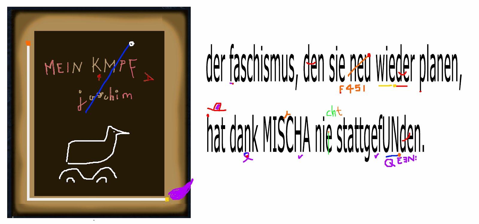 faschismus bekämpfung joachim gauck mein kmpf htler neuauflage angela merkel bert brecht frisch max