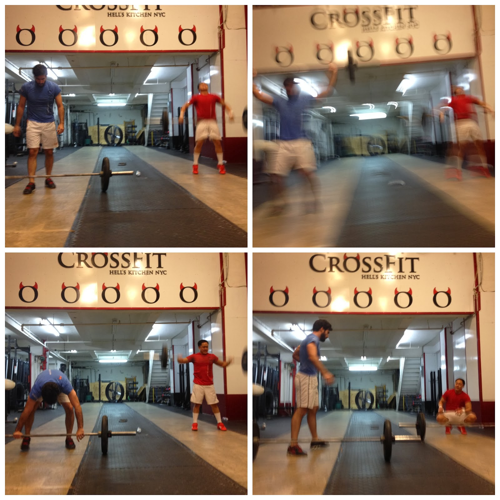 In Shape Out of Mind: CrossFit Collages from December