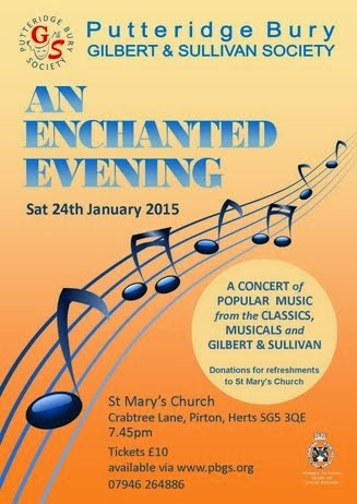 24 JAN 2015: An Enchanted Evening