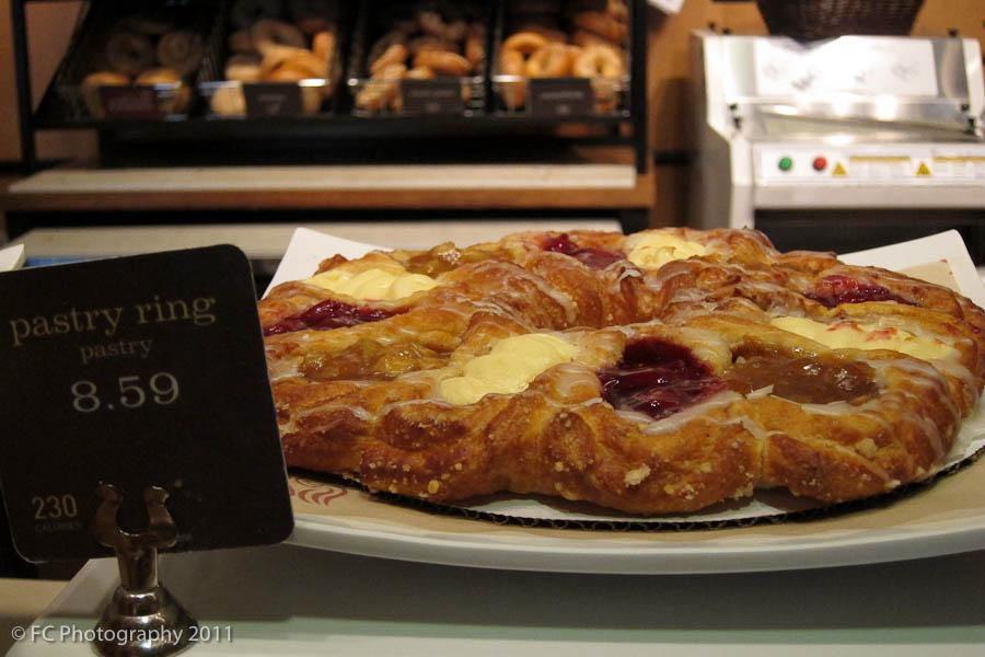 panera bread pastry ring pastry 230 calories x12 panera bread