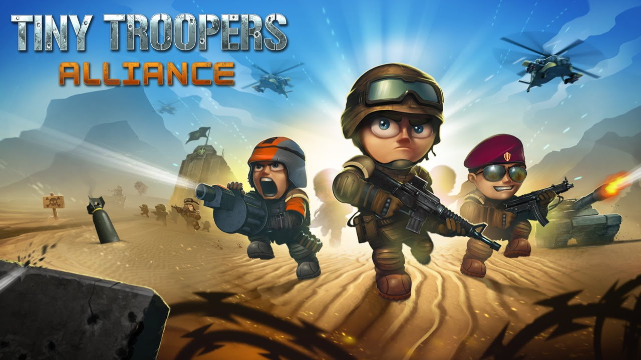 Tiny Troopers: Alliance Gameplay IOS / Android