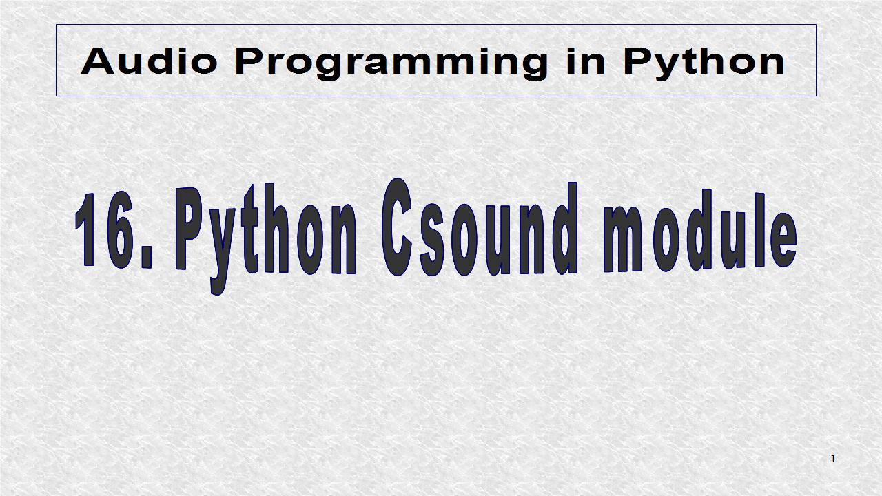 import system python
