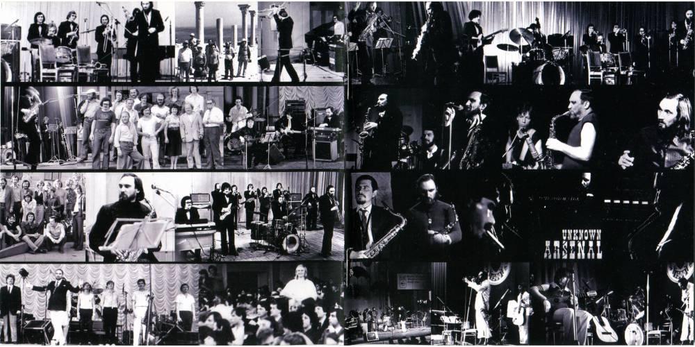 """""""Arsenal"""" é uma maravilhosa banda formada no início da década de setenta por um dos pioneiros do jazz-rock na União Soviética, """"Alexey Kozlov"""" (muitas vezes escrito """"Alexei""""), nascido em 1935 na cidade de Moscou, arquiteto profissional, saxofonista autodidata e compositor. Ele tocou jazz nos anos 50 e tinha profundo conhecimento de seus estilos diferentes, foi membro de inúmeras bandas, participou de festivais de jazz na própria Russia e no exterior (Polônia, Tchecoslováquia, Hungria) até a década de 70 onde ele tinha uma boa reputação nos círculos do jaz. Porém como ele era (e ainda é) um músico de mente aberta, sempre interessado em diferentes estilos musicais, ao ouvir bandas como """"Chicago"""", """"Mahavishnu Orchestra"""", """"Blood"""", """"Sweet and Tears"""", """"Pink Floyd"""", """"King Crimson"""", """"ELP"""" e outros, ele teve a idéia de ir em uma nova direção e formar uma banda, capaz de reproduzir a fusão destes estilos, daí surgiu o """"Arsenal"""". De acordo com """"Alexey Kozlov"""", ele queria criar uma banda muito virtuosa que fosse capaz de balancear nos improvisos uma pequena sensação de blues e diferentes estilos musicais. Não foi tão fácil encontrar músicos para nova banda. A maioria dos jazzistas experientes estavam céticos sobre o rock em geral e não consideraram ser uma proposta séria. O rock na União Soviética foi implantado em estado embrionário e quase totalmente underground, até mesmo a palavra """"rock"""" foi associada a influências ocidentais hostis. Naquela época a música rock existia na forma dos chamados """"conjuntos de vocais-instrumentais"""", teriam que ser profissionais e cantar """"canções de compositores soviéticos"""", sem qualquer espírito rebelde do verdadeiro rock que conhecemos. Muitos músicos undergrounds de rock estavam entusiasmados, mas eles não foram capazes de tocar peças complexas, muitos deles ainda não sabiam ler partituras. A solução veio principalmente dos bravos jovens estudantes do """"Conservatório de Moscou"""" e o """"Instituto estudantil de """"Gnesin's"""", cujos interesses não se res"""