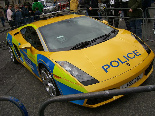 Metropolitan Police Car in London