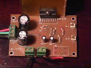 20w Stereo Amplifier