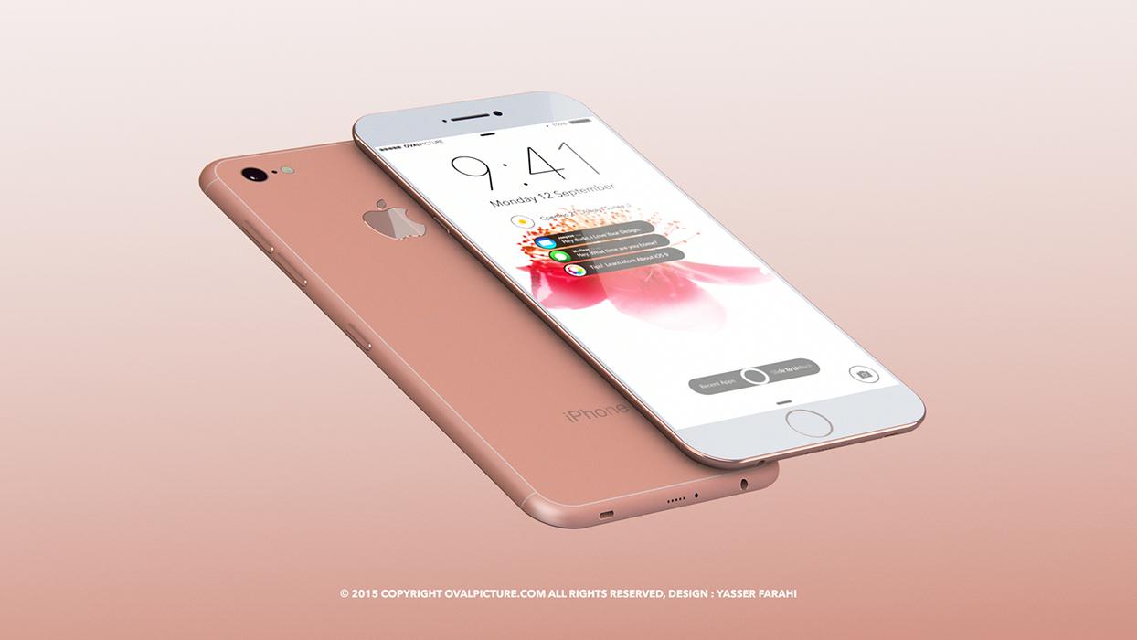 iPhone 7 copper
