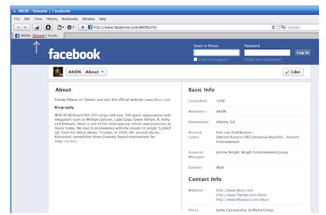 facebook, resume,