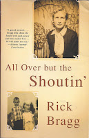Cover of All Over but the Shoutin' by Rick Bragg