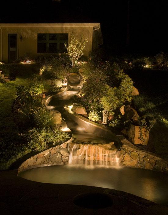 Make Koi Pond Shine With Pond Lighting Koi Fish Care Info