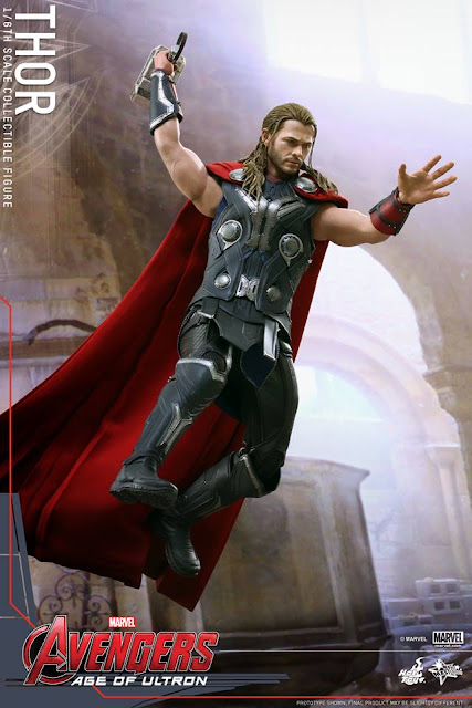 Hot Toys Thor Avengers Age of Ultron with Mjolnir