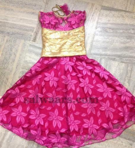 Brasso Pink Floral Skirt
