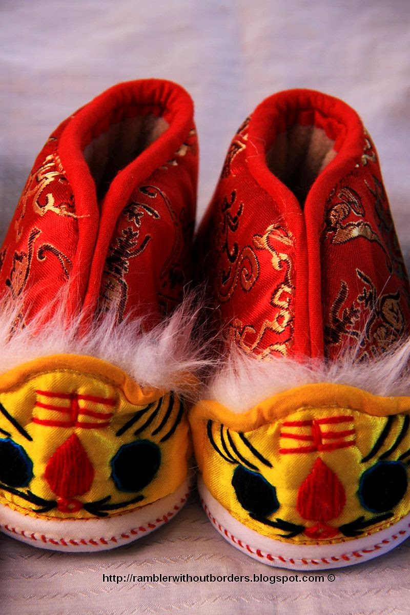 Tiger head shoes, Zhouzhuang, Jiangsu, China
