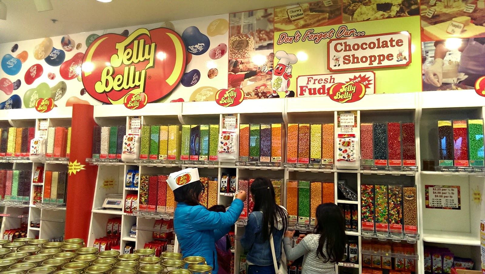 Jelly Belly Fairfield factory tour