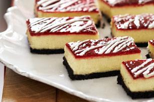 White Chocolate-Raspberry Cheesecake Bars - Cook'n is Fun - Food ...