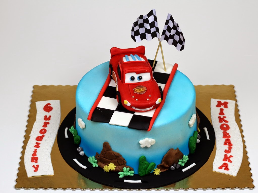Ligtning McQueen Birthday Cake Ideas Childrens Birthday Cakes