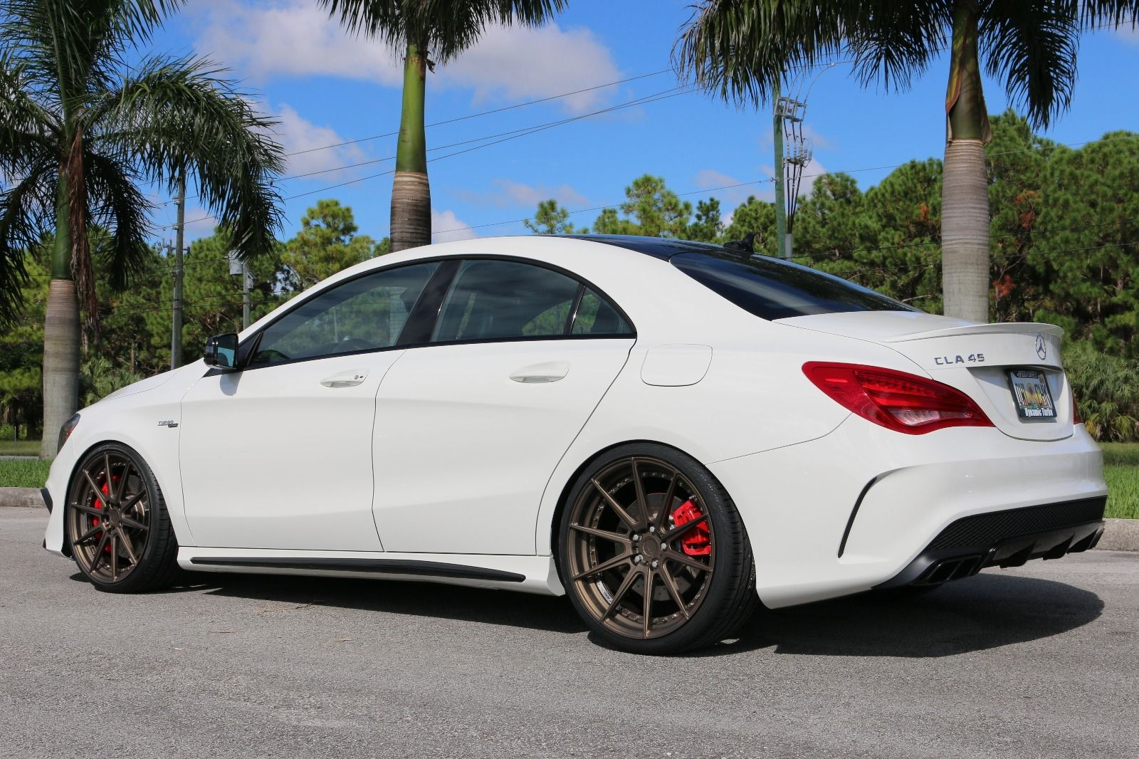2014 mercedes benz cla45 amg on adv1 m v2 sl wheels for Mercedes benz wheel