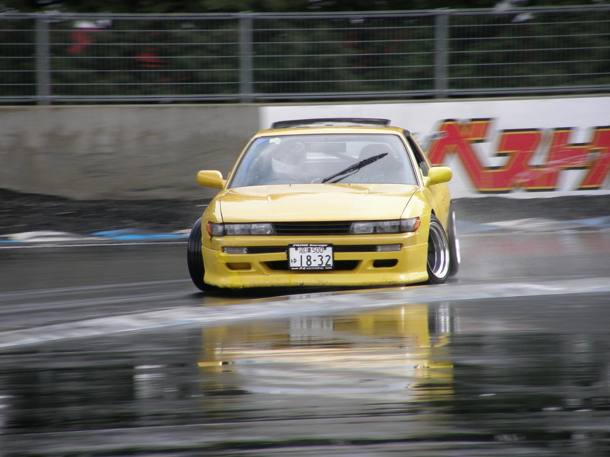 Nissan Silvia S13, sportowe samochody, drift, jazda bokiem, JDM, galeria, japońska motoryzacja