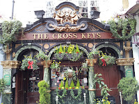 descubriendo rincones en Londres: The Cross Keys