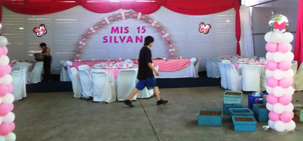Eventos para tu beb puesta en escena y decoracion fiesta for Decoracion de 15 anos con telas