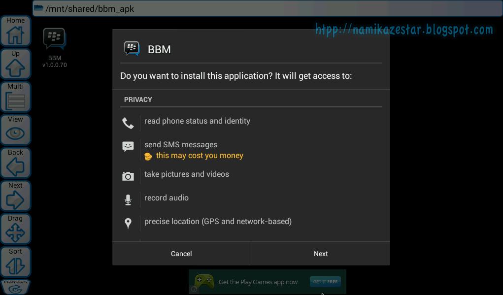 Tutorial Cara Instalasi BBM ( Blackberry) For PC Pakai Emulator