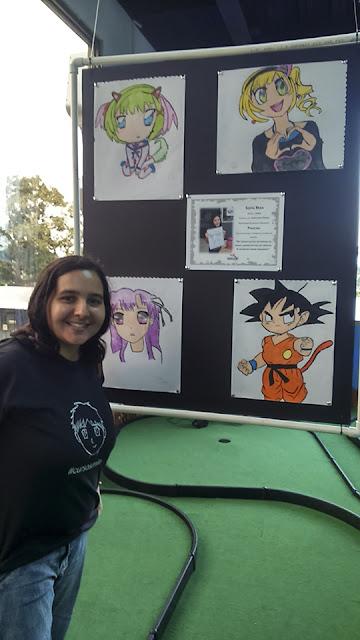 Exposición del curso de manga
