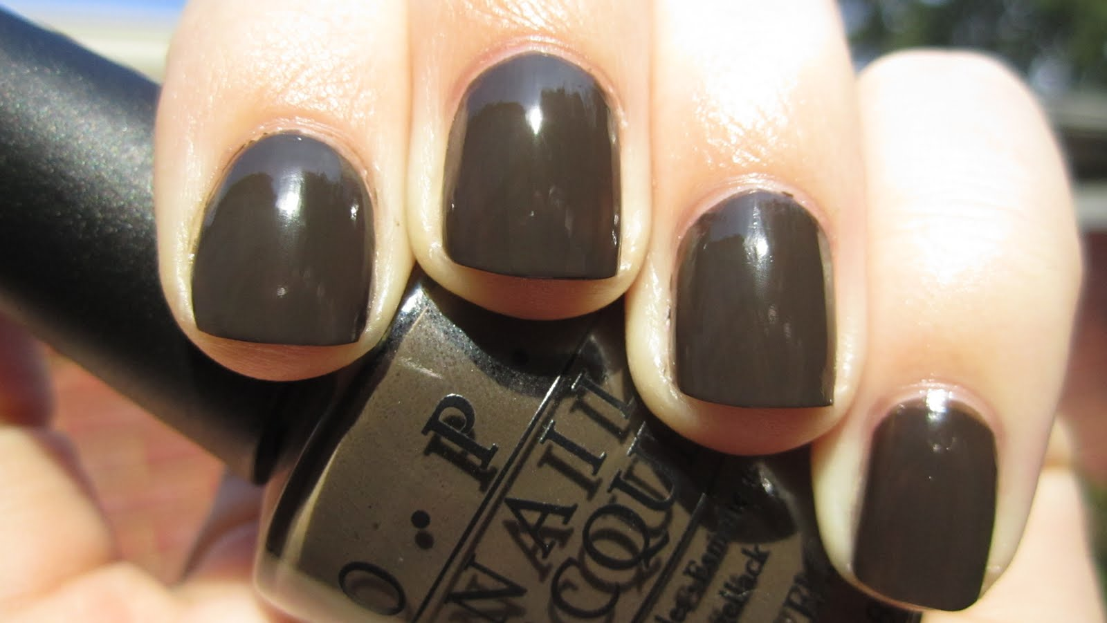 deep coffee colored brown that is going to be on my nails a lot this