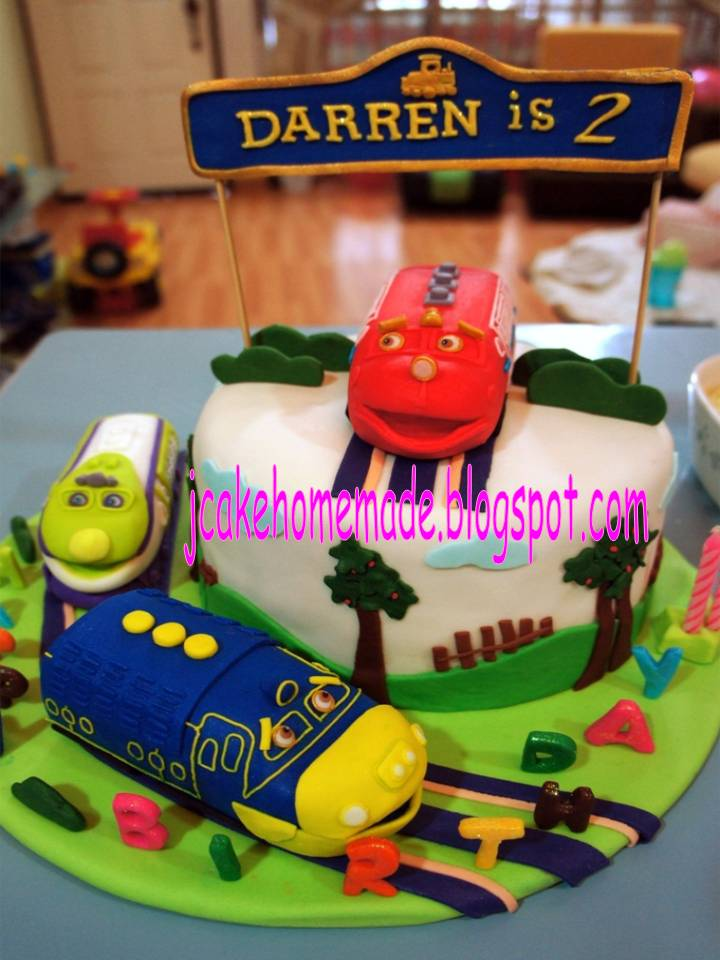 Chuggington Train Cake Pan