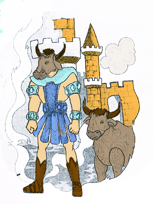 kisah raja minos dan minotour
