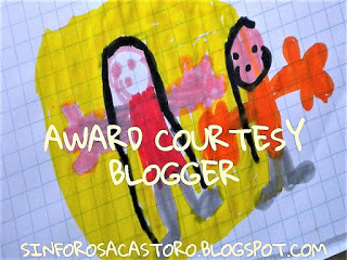 Award Courtesy Blogger by Sinforosa