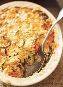 Gratinado de quinua light