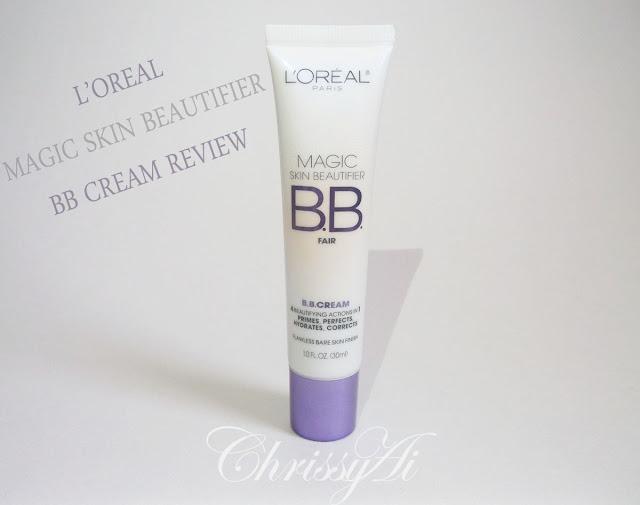 chrissyai review l 39 oreal magic skin beautifier bb cream. Black Bedroom Furniture Sets. Home Design Ideas