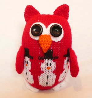 Knitted Owl from WowThankYou