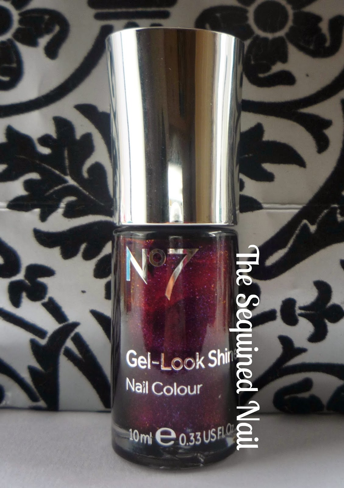 The Sequined Nail: No7 Galaxy Swatch