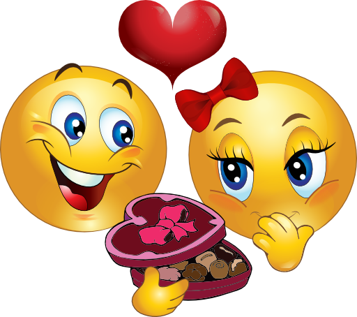 Box of chocolates emoticon