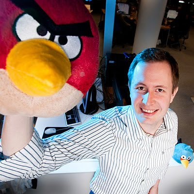 Mikael Hed, CEO, Rovio Mobile. Photo: Henrik Kettunen