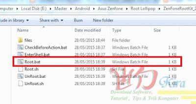 Root Asus Zenfone versi 78 wd-kira