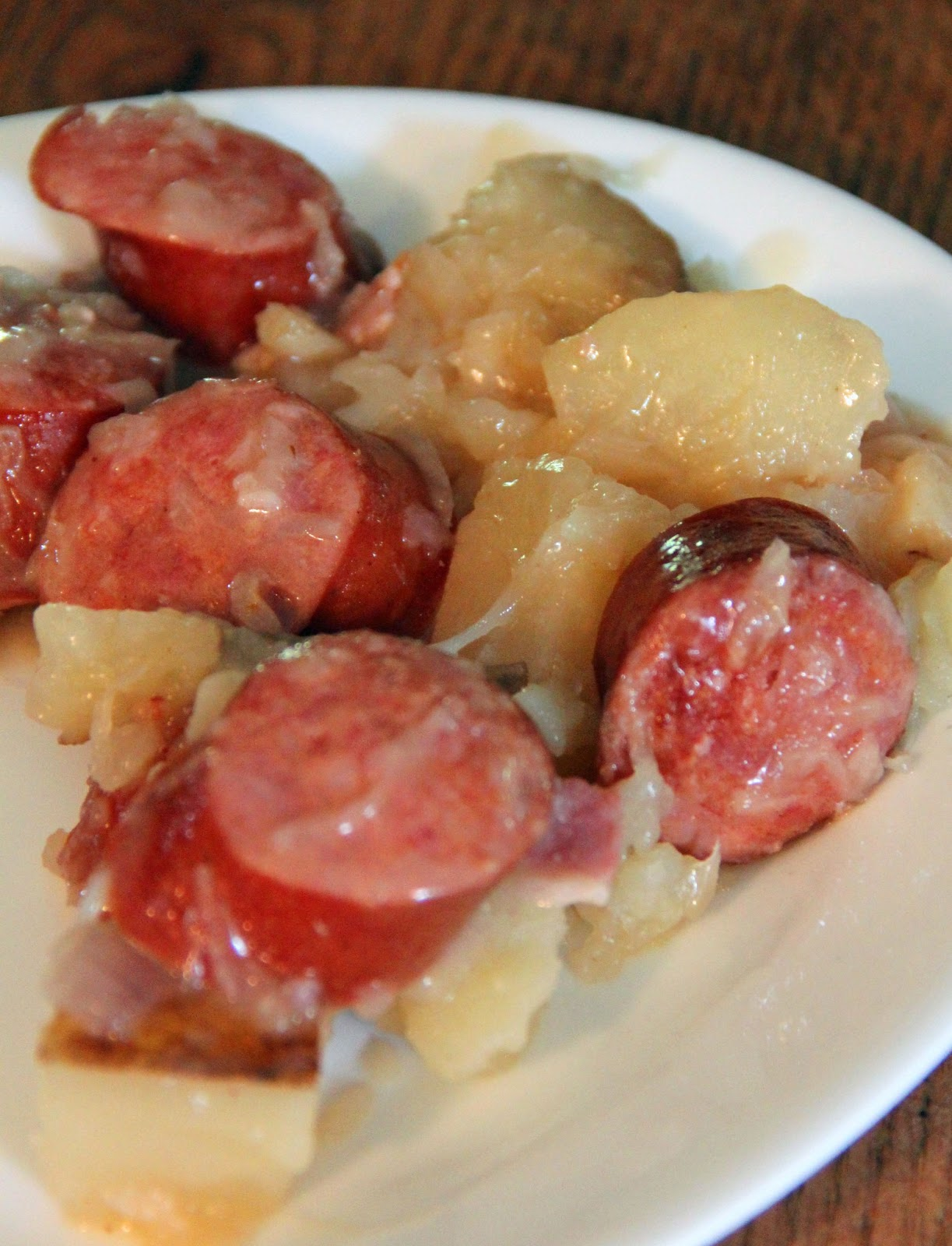 Jo and sue crockpot potatoes and ukrainian sausages crockpot potatoes and ukrainian sausages forumfinder Gallery