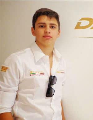 Gustavo Bandeira disputa na F3 Brasil pela Hitech Racing no Velopark
