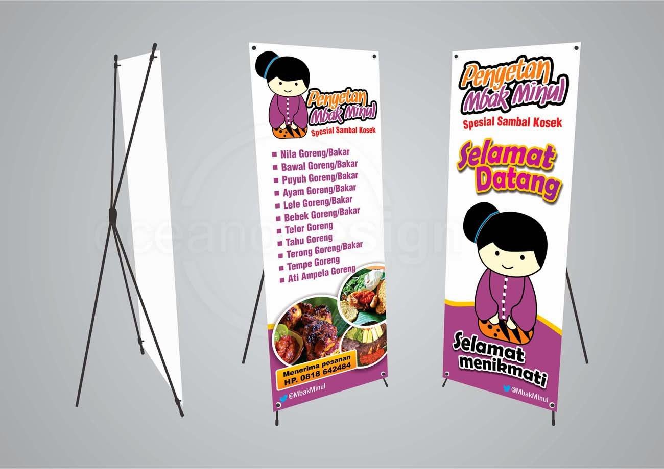x banner mbak minul - Jasa Desain Grafis Jogja