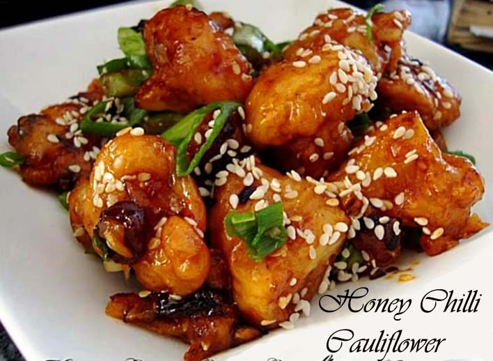 Honey Chilly Cauliflower