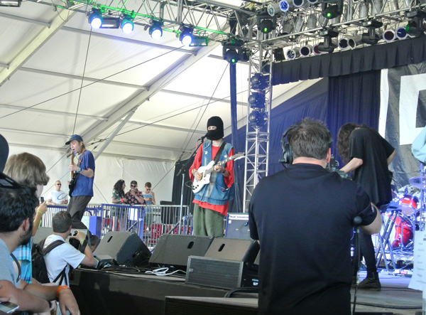 DIIV at Bonnaroo music festival in Tennessee