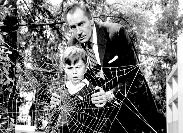 Vincent Price en La mosca