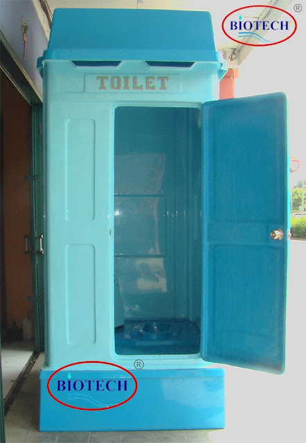 toilet portable urinoir, temporary toilet fibreglass, flexible toilet, jual portable toilet