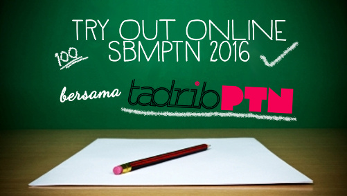 TadribPTN Try Out Online SBMPTN 2016