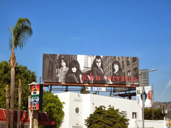 John Varvatos Kiss rock band billboard