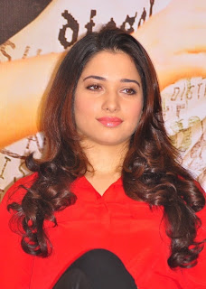 Tamanna Red Dress New Po Gallery 81.jpg