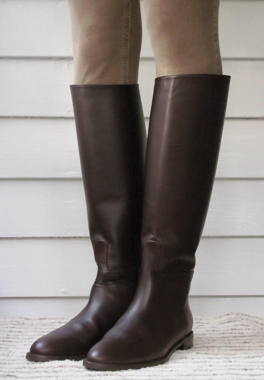 Howdy Slim! Riding Boots for Thin Calves: Stuart Weitzman Equine