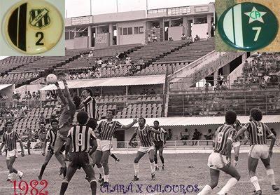 Ceará x Calouros, 1982...Estádio Presidente Vargas