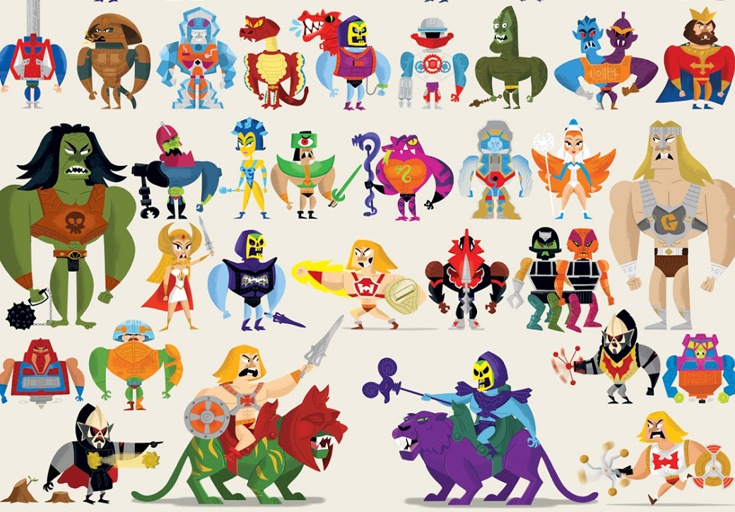 Masters of the Universe Compendium Poster