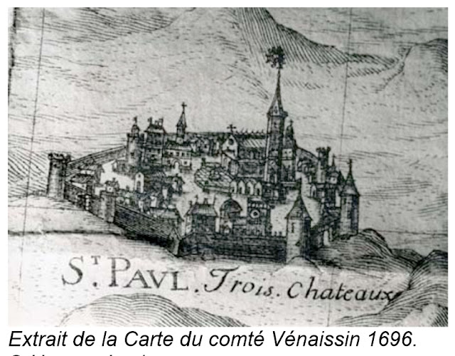 SAINT-PAUL-TROIS-CHATEAUX (26) - Les Remparts !